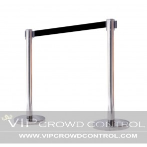 VIP Retractable Stanchion in Mirror Finish
