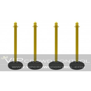 Plastic Stanchion with Dome Water Base (4 pcs)